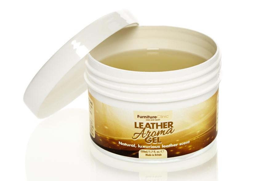 3.5 fl.oz (100ml) Leather Aroma Gel